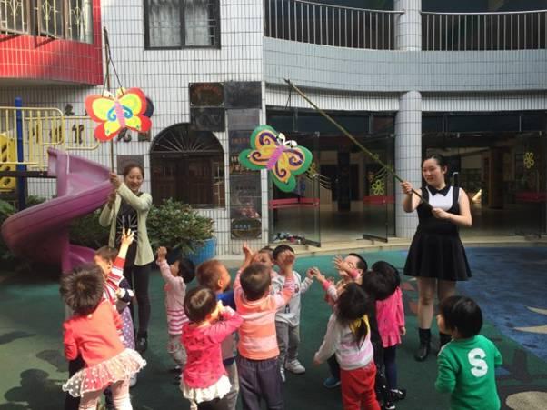 环保体育器械运动 - 东莞市外经贸幼儿园