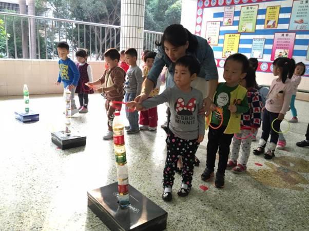感受运动快乐----幼儿园环保体育器械