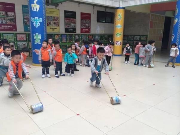 立足课题引领 感受运动快乐----幼儿园环保体育器械运用的研究小结