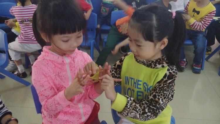 《民间手指游戏在幼儿园有效运用的研究》